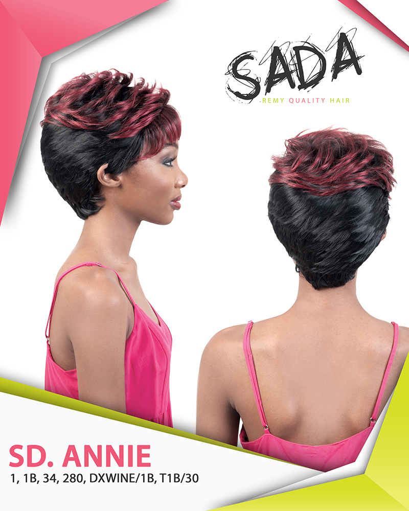 Image of the Annie Wig by Motown Tress