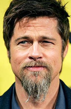 Tremendous Fake Beard Theatrical Grade Brad Pitt Goatee Beard Hairstyles For Women Draintrainus