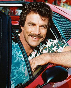 False Moustache Magnum PI