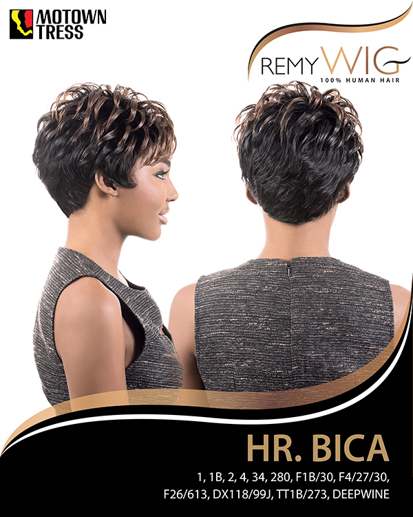 Image of the Bica Short Wig by Motown Tress