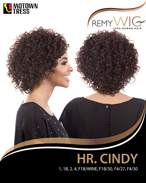 Image of the HR Cindy Short Wig by Motown Tress