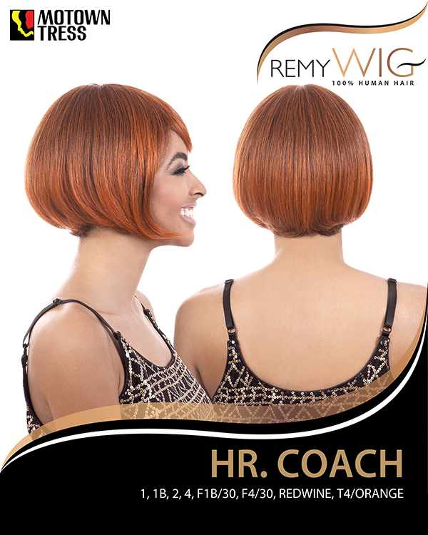 Image of the HR Coach Short Wig by Motown Tress