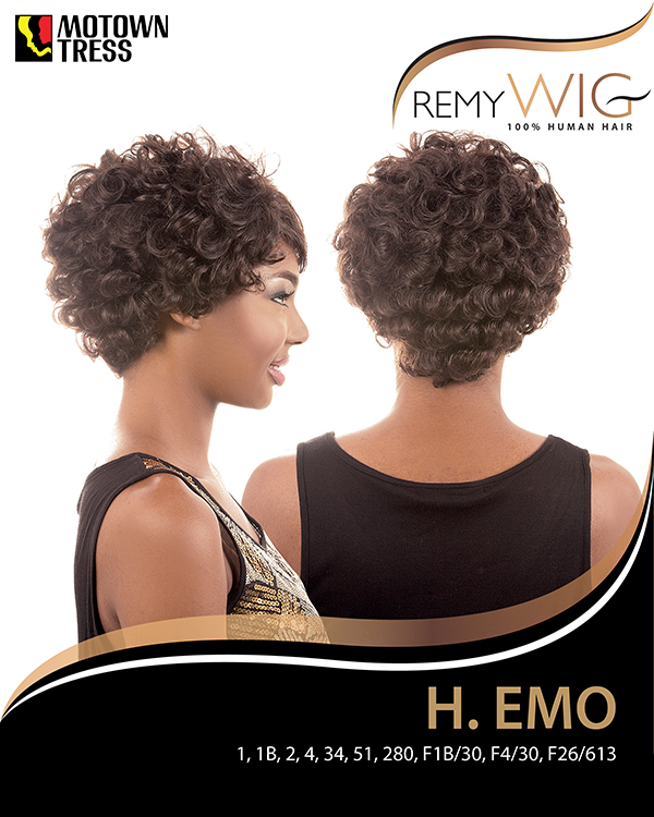 Image of the HR Emo Short Wig by Motown Tress