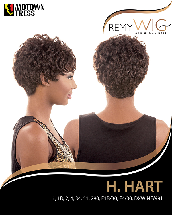 Image of the HR Hart Short Wig by Motown Tress