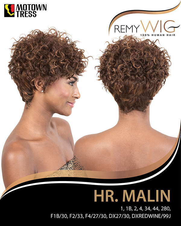 Image of the HR Malin Short Wig by Motown Tress
