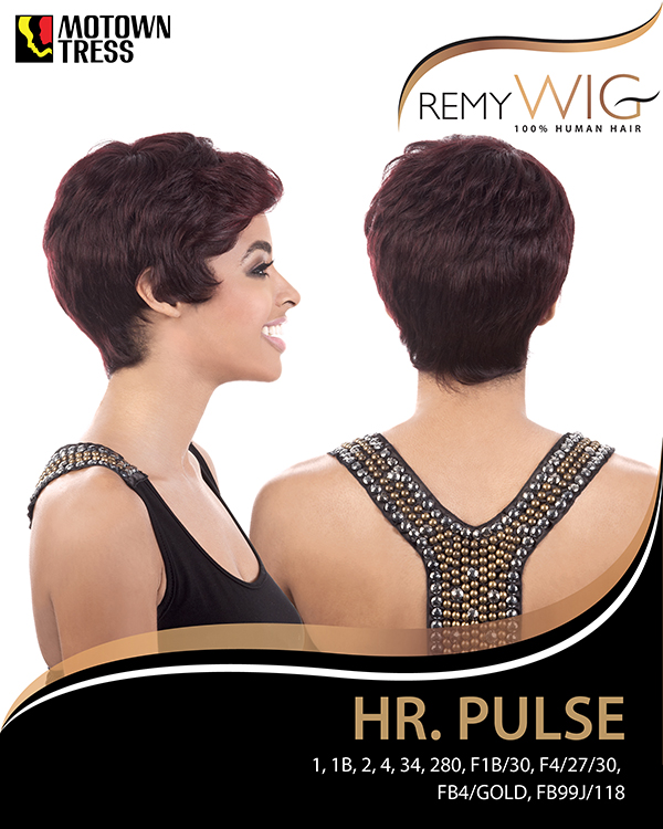 Image of the HR Pulse Short Wig by Motown Tress