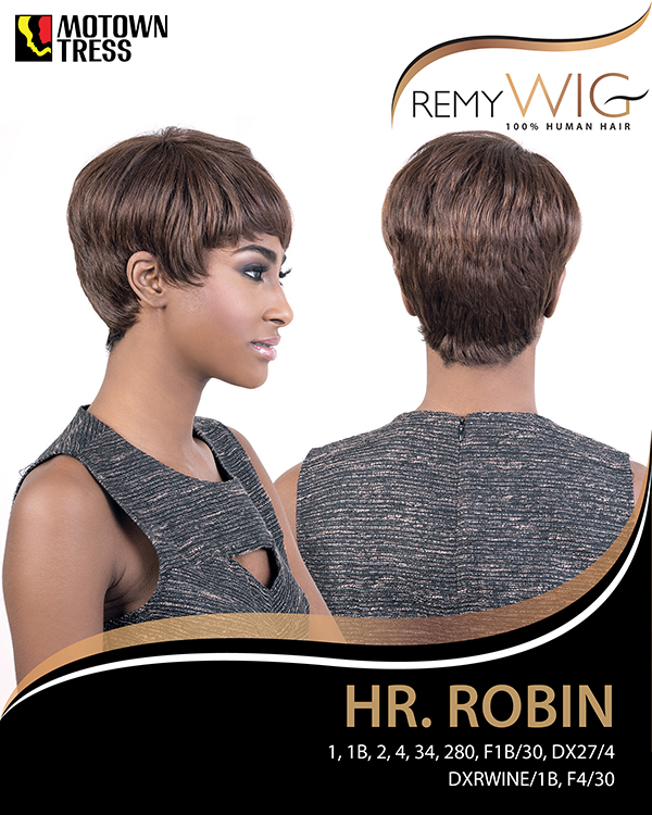 Image of the HR Robin Short Wig by Motown Tress
