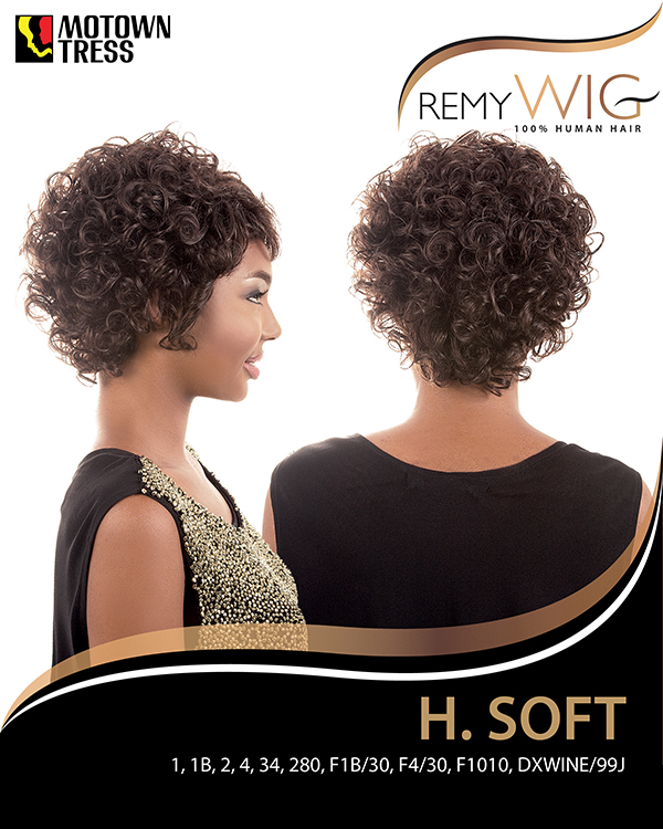 Image of the H Soft Short Wig by Motown Tress