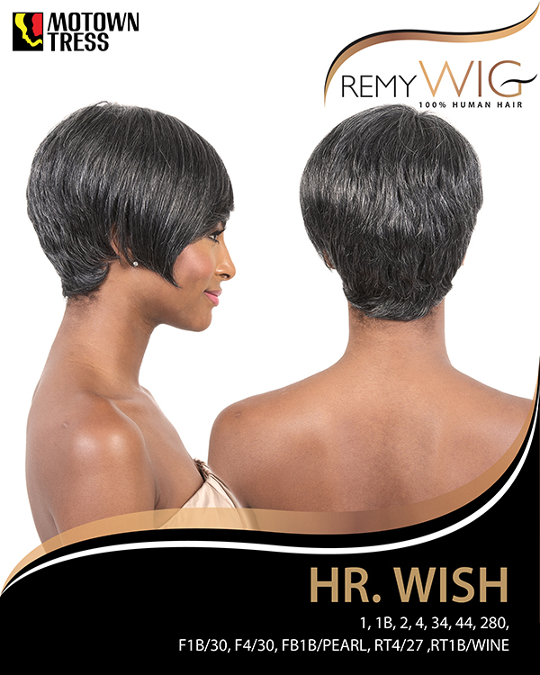 Image of the HR Wish Short Wig by Motown Tress