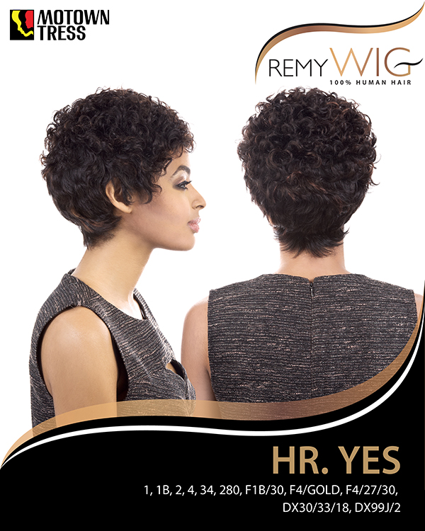 Image of the HR Yes Short Wig by Motown Tress