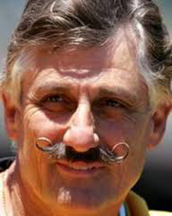 Rollie Fingers Fake Moustache