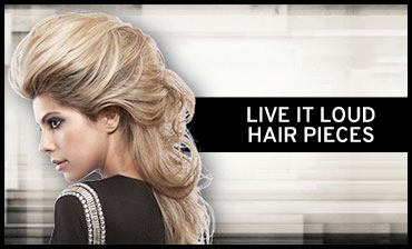 Live It Loud Hair Pieces
